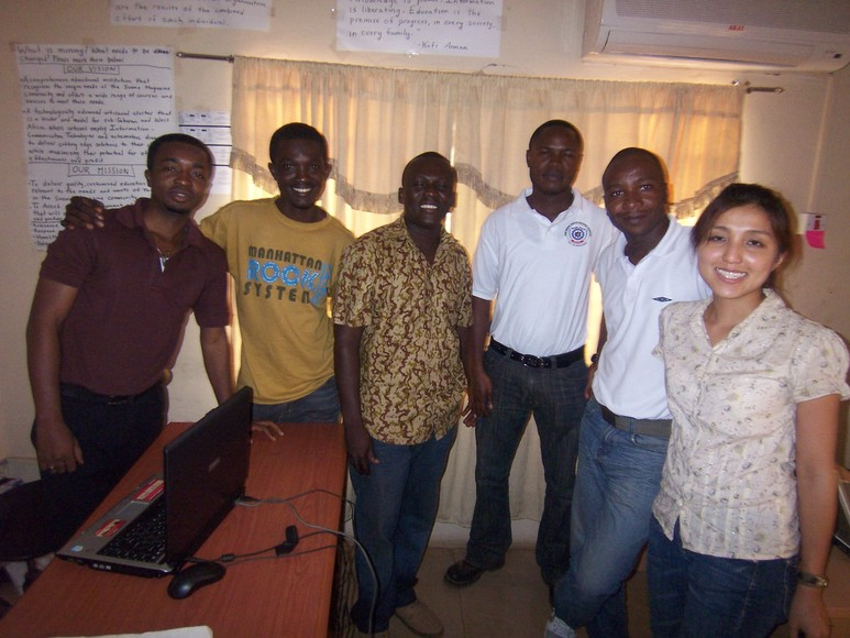 Some members of the SMIDO team