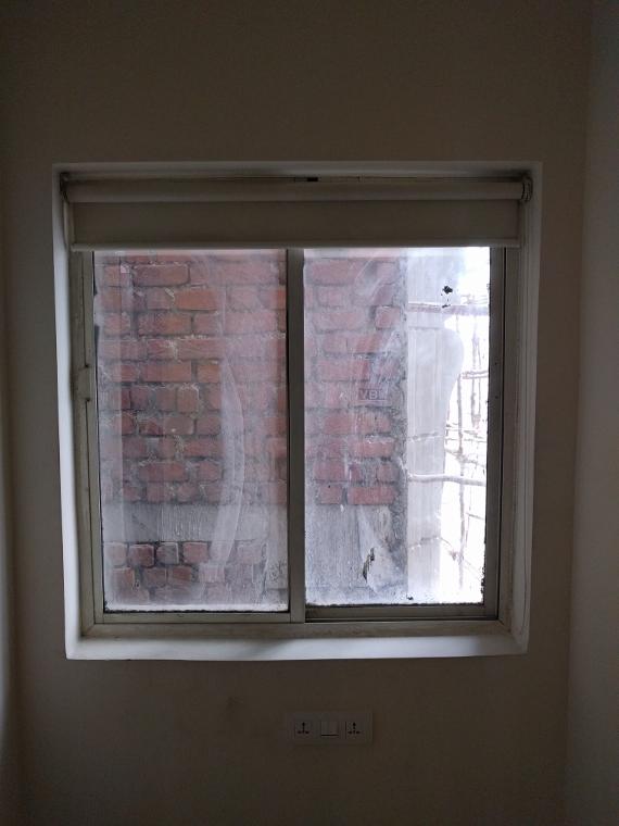 Brick view of my hotel