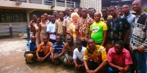 Margarete in Ghana
