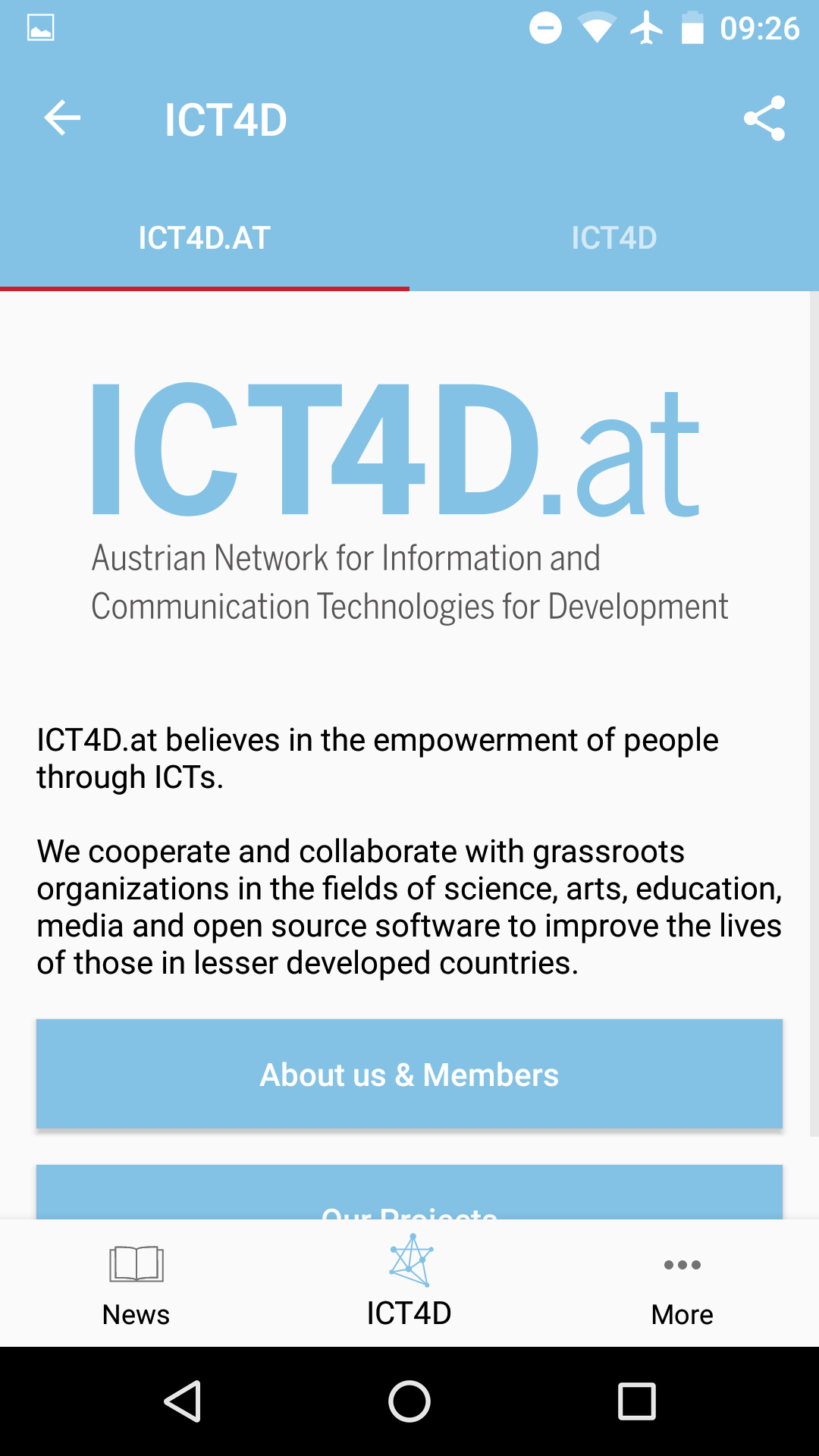 About ICT4D.at